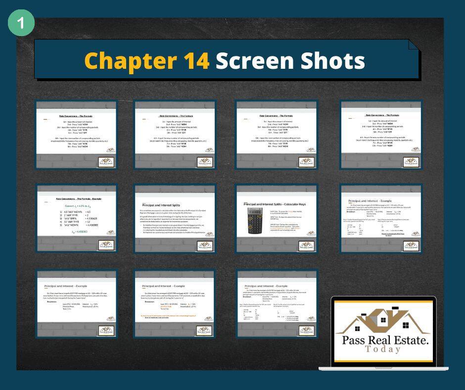 Chapter 14 screenshots (Prt 1)