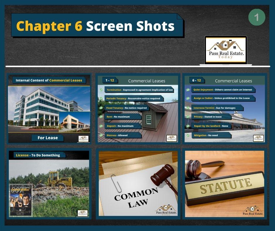 Chapter 6 Screen Shots - Part 1
