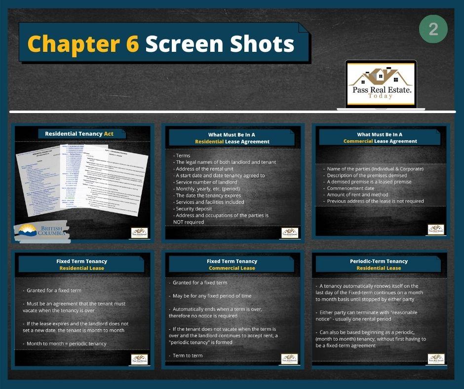 Chapter 6 Screen Shots - Part 2