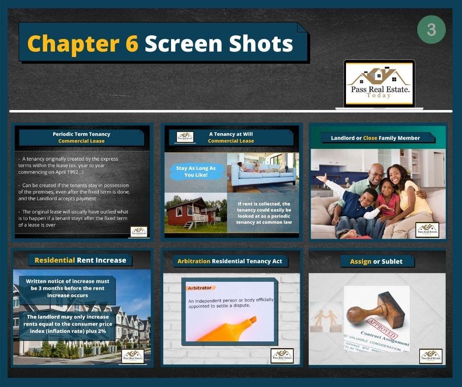 Chapter 6 Screen Shots - Part 3