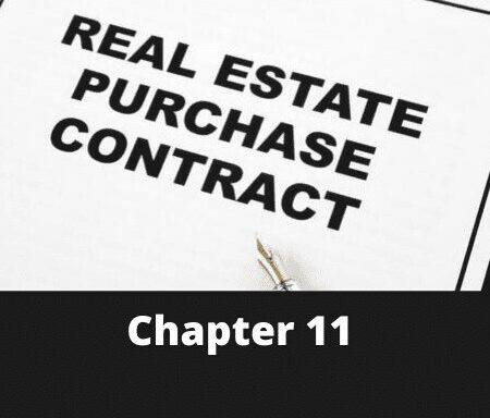 Chapter 11 – Contracts for Real Estate Transactions