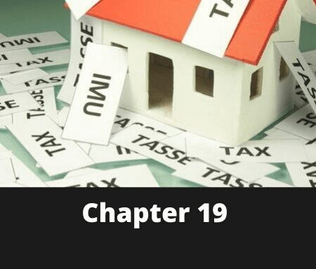 Chapter 19 – Taxes on Real Property