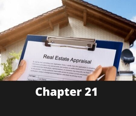 Chapter 21 – Introduction to Real Estate Appraisal