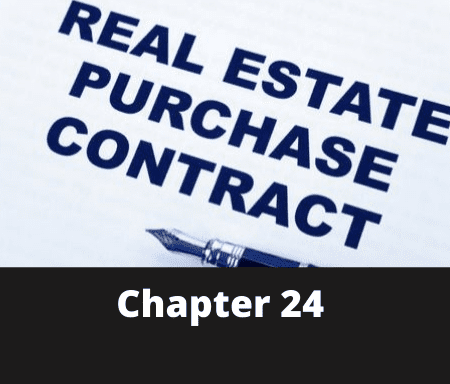 Chapter 24 – From Contract to Completion