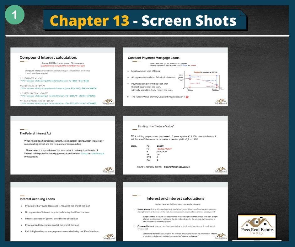 Chapter 13 - Screen Shots (part 1)