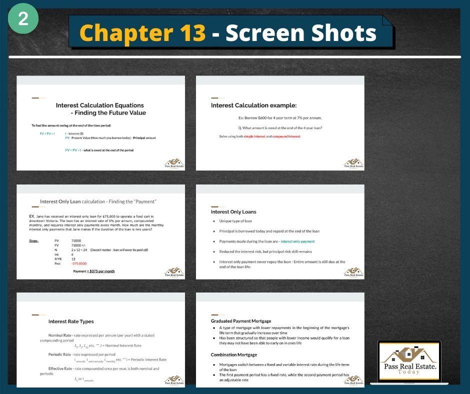 Chapter 13 - Screen Shots (part 2)